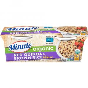 Minute Ready To Serve Organic Red Quinoa & Brown Rice
