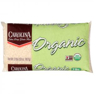 Carolina Organic Extra Long Grain White Rice