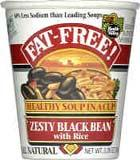 Health Valley Zesty Black Bean W/rice Soup Cup