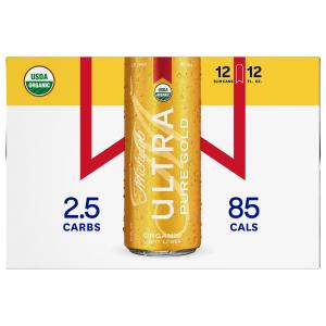 Michelob Ultra Pure Gold Organic Light Lager