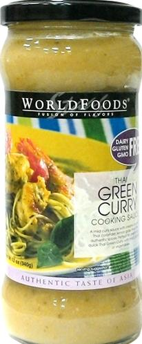 World Foods Thai Green Curry Sauce