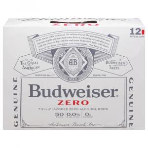 Budweiser Zero Alcohol Brew