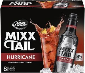 Bud Light Mixxtail Hurricane Aluminum