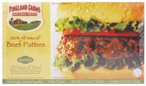 Pineland Farms 100% All Beef Patties