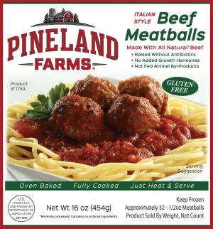 Pineland Farms Italian Style Beef Meatballs