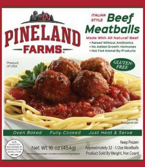 Pineland Farms Beef Swedish Meatballs