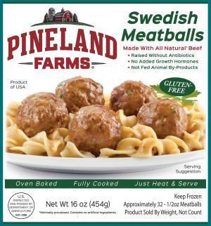 Pineland Farms Swedish Meatballs
