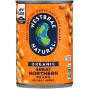 Westbrae Organic Low Sodium Northern Beans