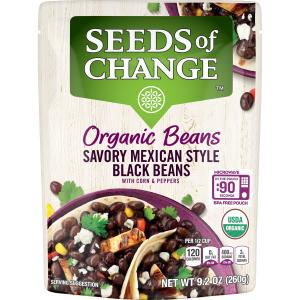 Seeds of Change Organic Black Beans With Corn & Peppers