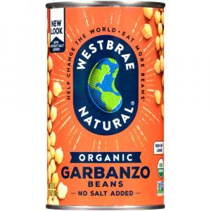 Westbrae Organic Low Sodium Garbanzo Beans