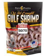 Paul Piazza Peeled & Deveined Wild Gulf Shrimp 50/70 Count