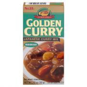 S&B Medium Hot Golden Curry Sauce Mix