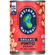 Westbrae Organic Low Sodium Pinto Beans