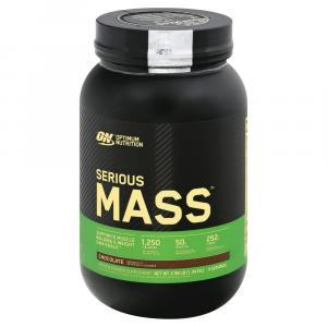 Optimum Nutrition Serious Mass Chocolate Protein Powder