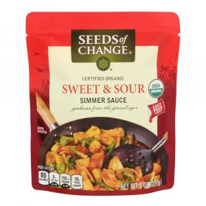 Seeds Of Change Organic Sweet & Sour Simmer Sauce