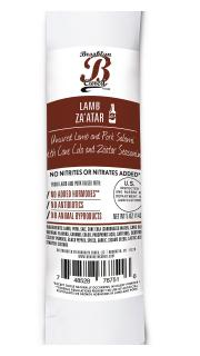 Brooklyn Cured Uncured Lamb and Pork Salami Za'atar