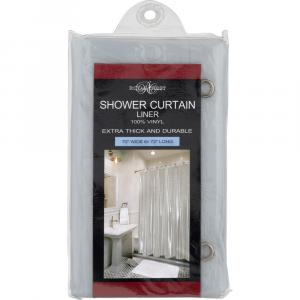 Royal Crest Clear Shower Curtain Liner