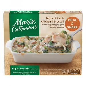 Marie Callender Meal For Two Fettuccini W Chicken & Broccoli