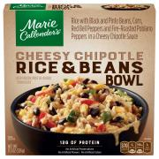 Marie Callender's Cheesy Chipotle Rice & Beans Bowl