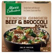 Marie Callender's Tender Ginger Beef & Broccoli Bowl