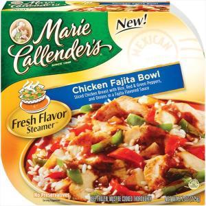 Marie Callender's Fresh Flavor Steamer Chicken Fajita Bowl