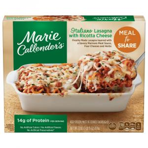 Marie Callender's Meal for Two Italiano Lasagna