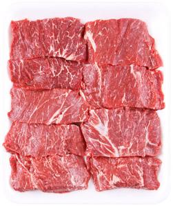 Beef Boneless Chuck Short Ribs Family Pack