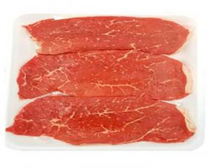 Beef 1st Cut Thin Sliced Top Round Steak
