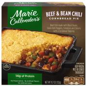 Marie Callender's Beef & Black Bean Chili Cornbread Pie
