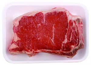 Bone In Beef Strip Steak End Cut