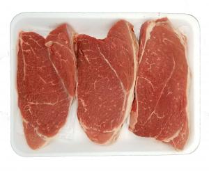Beef Shoulder London Broil Steak Family Pack Thin Sliced