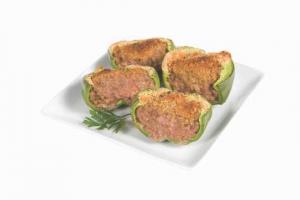 Beef Stuffed Green Pepper
