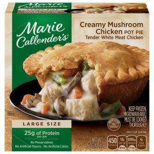 Marie Callender's Creamy Mushroom Chicken Pot Pie