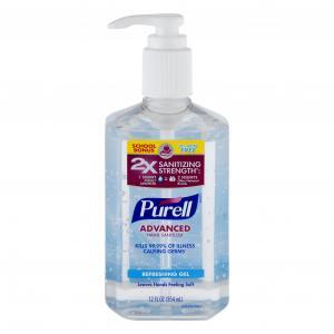 Purell Advanced Hand Sanitizer Refreshing Gel Pump