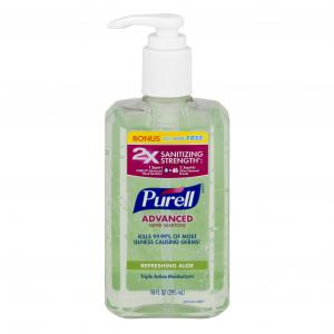 Purell Advanced Refreshing Aloe Hand Sanitizer 25% Bonus