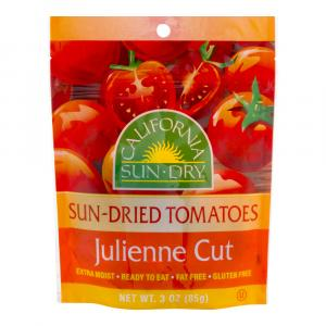 California Sun-dried Tomatoes Julienne Cut
