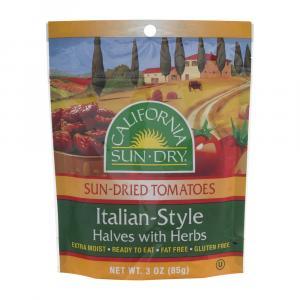 California Sun-Dry Tomatoes Italian Style Halves with Herbs
