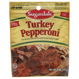 Sugardale Turkey Pepperoni