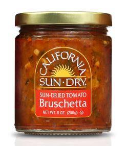 California Sun-Dry Sun-Dried Tomato Bruschetta