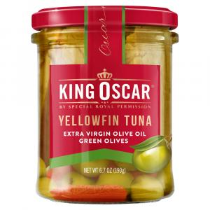 King Oscar Yellowfin Tuna in Extra Virgin Olive Oil