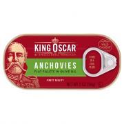 King Oscar Flat Anchovies