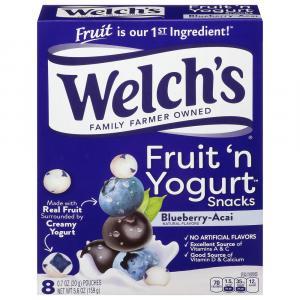 Welch's Fruit 'n Yogurt Snacks Blueberry-Acai