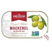 King Oscar Royal Fillets Mackerel in Olive Oil