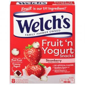 Welch's Fruit 'n Yogurt Snacks Strawberry