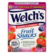 Welch's Berries 'n Cherries Fruit Snacks