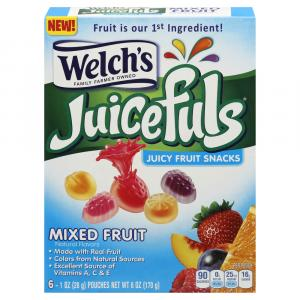 Welch's Juicefuls Mixed Fruit Snacks