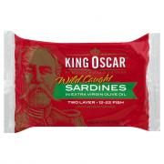 King Oscar Sardines in Oil 2 Layer