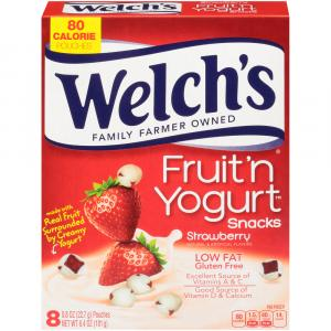 Welch's Fruit 'n Yogurt Strawberry Snacks