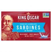 King Oscar Skinless & Boneless Sardines in Water