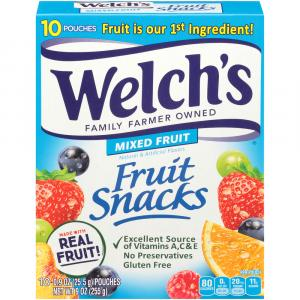 Welch's Mixed Fruit Snacks